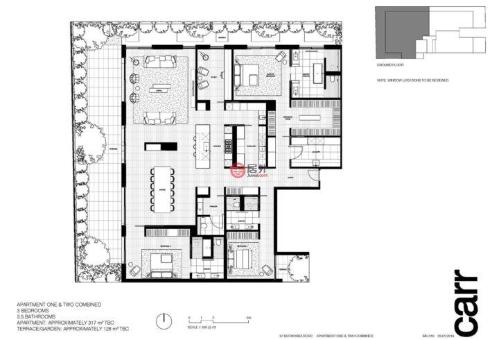 澳大利亚维多利亚州Toorak的房产,编号40023855