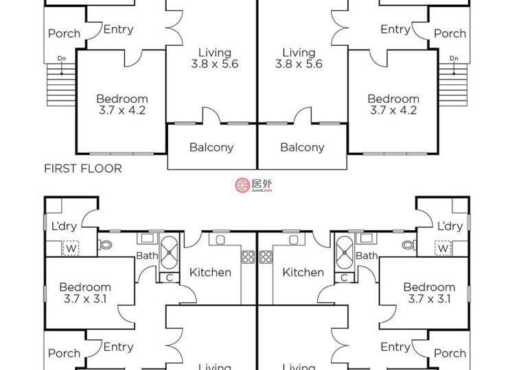 澳大利亚维多利亚州的房产,1-3 Molesworth Street,编号42723766